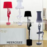 E27 Resin Stand Lady Lamp Decorative Floor Light for Pub MD2030