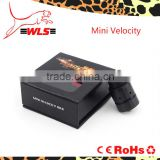 WLS New Design Velocity 1:1 Mechanical Rda Clone Mini Size Velocity Rda