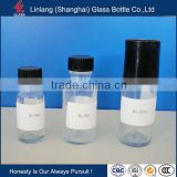 Screen Printing Surface Handling PE lid industrial use oil personel care E- liquid Glass Bottle