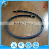 Heat -resistant rubber seal strip for the window glass