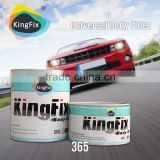 audited supplier yellow color fast drying auto body filler