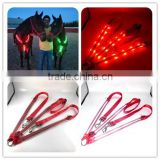 Factory Wholesale Red Led Flashing Horse Breastplate (First In the World)