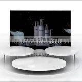 High quality and hot selling acrylic makeup display , rotating makeup display , acrylic cosmetic display stand