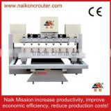 engrave 3D plane and cylinfrical cnc multi head drilling machine