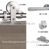 Barn wood sliding door hardware, sliding wood door                                                                         Quality Choice