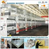 Aluminium Foil Polyurethane PUR Foam Board Production Line / Polyurethane Insulation Slab Machine                                                                         Quality Choice