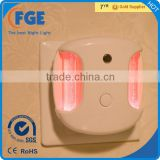 LED Multi-Color Red, White, and Blue LED Night Light With Switch and Dusk to Dawn Sensor