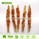Dental Stick Chicken Wrapped Rawhide Chew Wholesale Bulk Dry Pet Snack Dog Treat Dog Chews Dog Training Treat Dog Snack