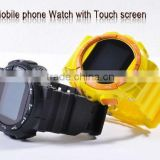sport watch phone cell watch GD920 dual sim 1.3MP camera 1.4inch touch screen