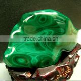 Wholesale Natural Gemstone Malachite Tumbled Poket Stone/malachite Quartz Crystal Rough Stones