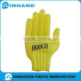 2016Manufacturers selling EN71-1-2-3 Eco-friendly PVC Inflatable yellow hand/giant inflatable hand/inflatable middle finger hand