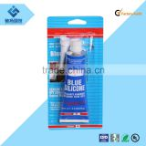 Professional manufacturer for car sealant silicone 100% RTV silicone rubber adhesive glue