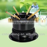 non stick mini chocolate fondue set