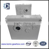 High working efficiency carbon steel transmission marine winch gearbox with diesel marine engine