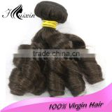100% real virgin brazillian hair/ remy hair extensions /unprocessed virgin brazilian hair
