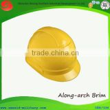 CE 397 cheap lightweight mining helmet industrial worker protective ABS PE electrical helmet with along arch brim