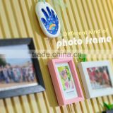 Souvenir For Kids Baby Room Decoration Clay Footprint Kit Photoframe