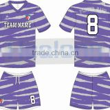 Custom design 100% polyester cheap dye sublimated soccer jersey &uniform with numbers wholesale