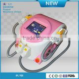 Salon Top best effective 2 in 1 e-light beauty apparatus with CE/TUV certificates
