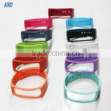 Replacement Rubber Band Wristband For Samsung Gear Fit R350 Smart Band Bracelet Strap Watch With Metal Clasp