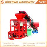 Hollow Block Making Machine QTJ4-26 Semi Automatic Cement Block Machinery For Sale in Africa