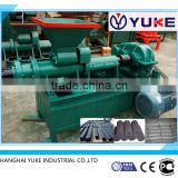 Factory direct price screw extrusion coal bar briquettes extruder from Shanghai Yuke industrial