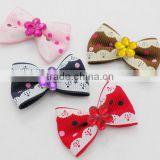 Child Girls Pet grosgrain ribbon hair bows