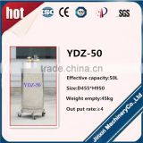 Auto-pressurized tank ultra-low temperature tank YDZ-50 with various valves safety to use