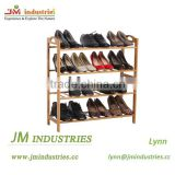 Bamboo standing shoe racks manufacture