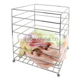 Hotel Towel Basket Hotel accessories stainless steel towel basket