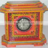 Antique Wooden Decorative Clock-3