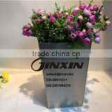 JINXIN HARDWARE Stainless Steel Flowerpot / Outdoor Flower Vase / Metal Planter