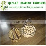 Cheap large bulk bamboo basket