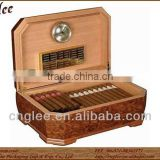 Luxury cigar humidor assortment box for 50 cigars