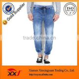 wholesale market in mumbai mens new pattern hot fashion jeans pants classic blue washed baggy track pants