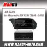 2 din car radio for Mercedes GLK X204 (2008-2014 ) car dvd gps multimedia system for Benz 2 din car dvd autoradio