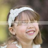 directly factory wholesale new arrival rhinestone crystal hair headband for flower girls dresses