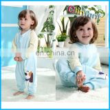Elinfant new design baby sleeping bag cotton wearable blanket sleeping bag with feet