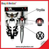 Hot Selling Toy Sword With Light And Sound Eva Sword