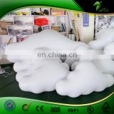 Best Selling Ceiling Cloud Balloon White Inflatable Party Decorations Lighting Colud Ball