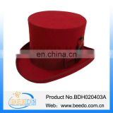 Wholesale upturned brim mad hatter top hats for women