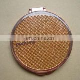 metal compact mirror with epoxy paint surface