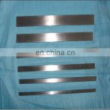 Bright Mirror Polished Stainless steel flat bar 321 304