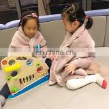 Fashion style super soft custom design hoody blanket fleece cloak for children