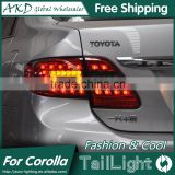 AKD Car Styling Tall Lamp for Corolla DRL New Corolla LED DRL 2016 Corolla LED Tail Light Good Quality LED Fog lamp