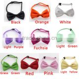 Tuxedo Classic Bowtie Satin Men Wedding Groom Women Party Plain Neckwear Bow Tie