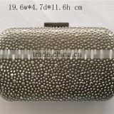 cheap rhinestude clutch bag sequin fabric party bag