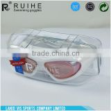 Factory Sale OEM design adult swimming goggle from China