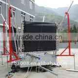 Galvanized tubes bungee trampoline with trailer