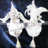 Creative personality chiffon doll ornaments home decor children's room furnishings crafts toys onions hanging feet